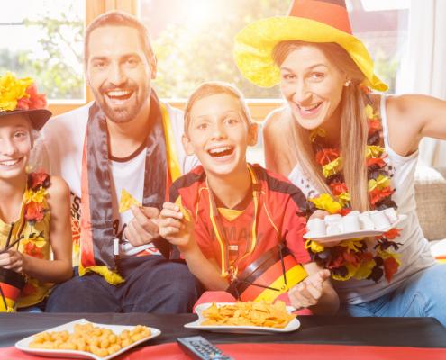 German family - Anno all' estero Germania