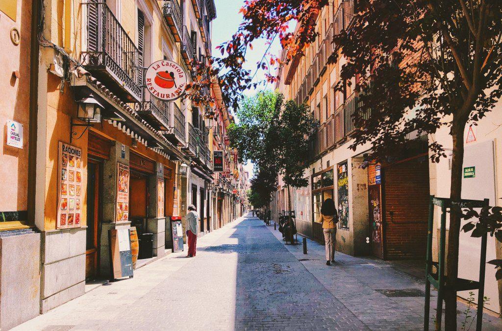 Spagna, Madrid - Anno all' estero